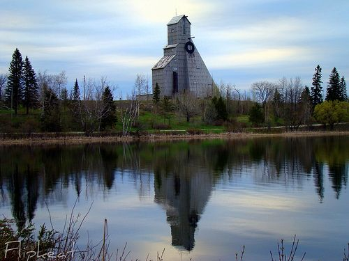McIntyre Mine, in Timmins, Ontario, Canada