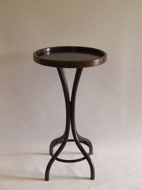 thonet vienna wien bentwood gueridon side table