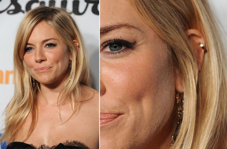 sienna miller ear piercing - Google Search