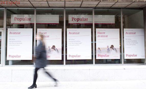El Banco Popular cae otro 10% en Bolsa tras anunciar una posible fusión o ampliación de capital