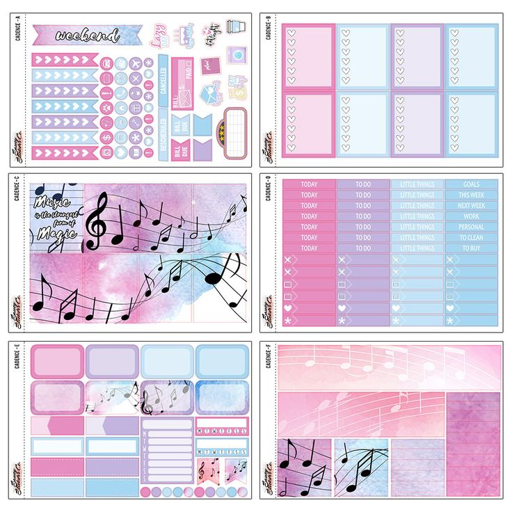 These fun and beautiful stickers fit perfectly in the Erin Condren Vertical…