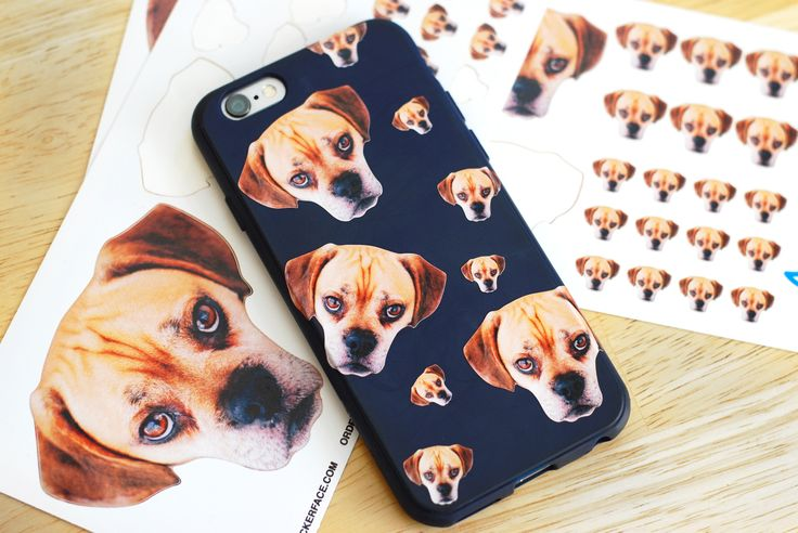 Custom stickers for your phone