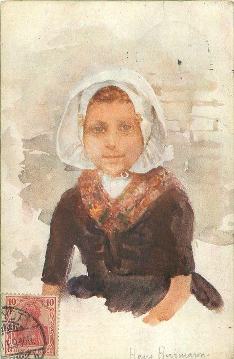 1911 postcard : Hans Herrman, artist