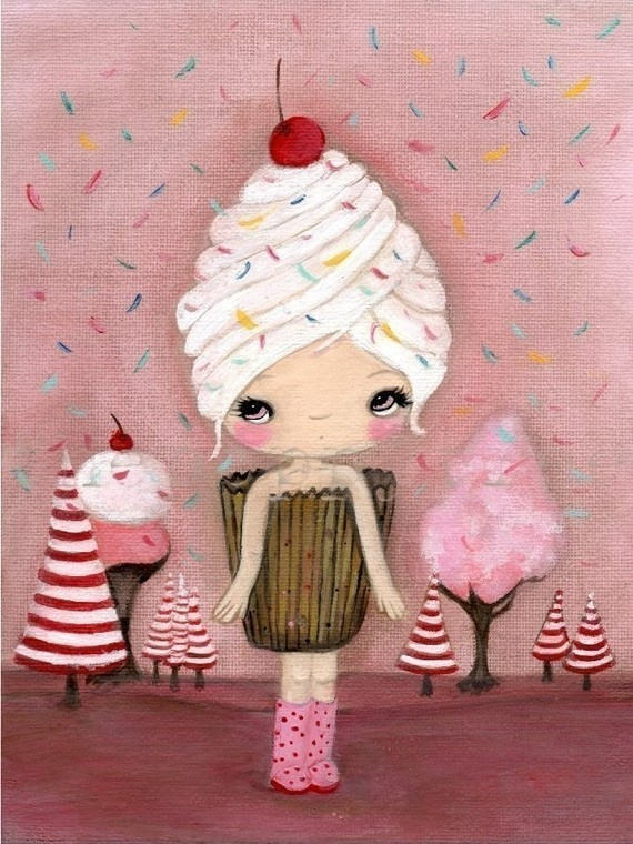 Cupcake girl 3
