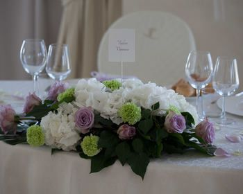 centrotavola fi fiori by Location matrimoni Pozzolengo (BS) - Chervò Golf San Vigilio