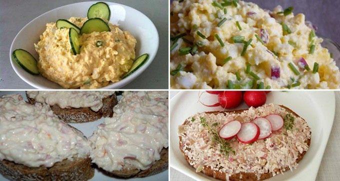29 nejlepších receptů na domácí pomazánky na chlebíčky a jednohubky