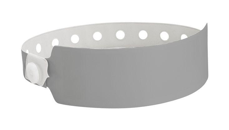 Vinyl Wristbands - Wide Face