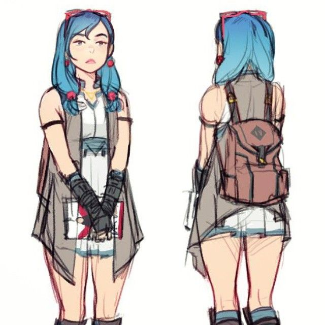 Awespme Character Inspiration: Feeling Really Good About This Design For Megan