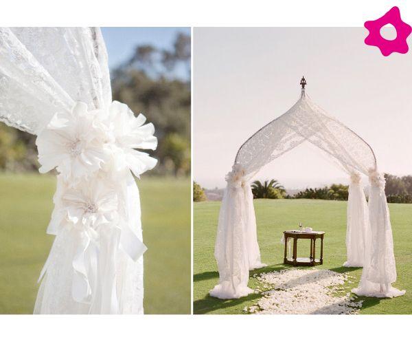 Decoracion En Telas Para Matrimonio ~ M?s de 1000 ideas sobre Arcos Para Boda en Pinterest  Arcos De Boda