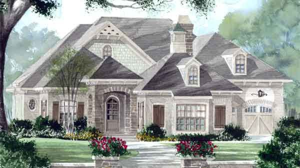 Falkirk plan southern living dream home pinterest for Southern living house plans with keeping rooms
