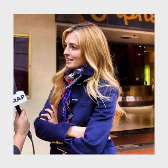 Cat Deeley was spotted wearing one of brands key styles, The Snake Square, recently in LA.