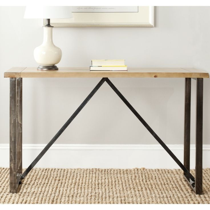 Safavieh Chase Natural Console Table (AMH4128A)