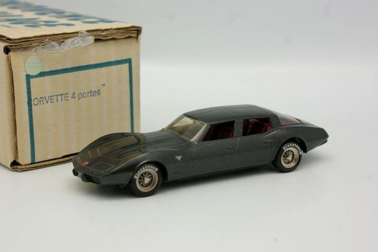 Provence Moulage Kit Monté1/43 - Chevrolet Corvette Limousine 4 Portes | eBay