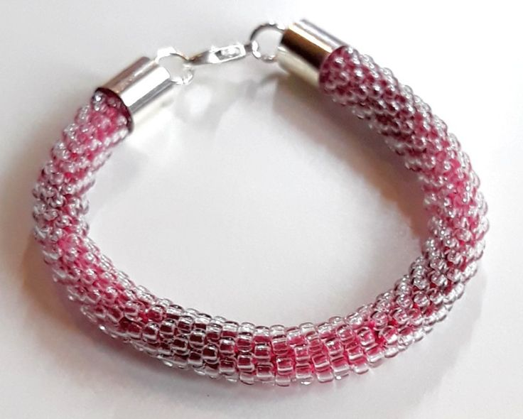 #szydełkowokoralikowa #toho #róż #pink