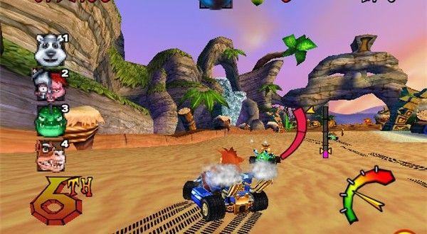 تحميل لعبة crash nitro kart