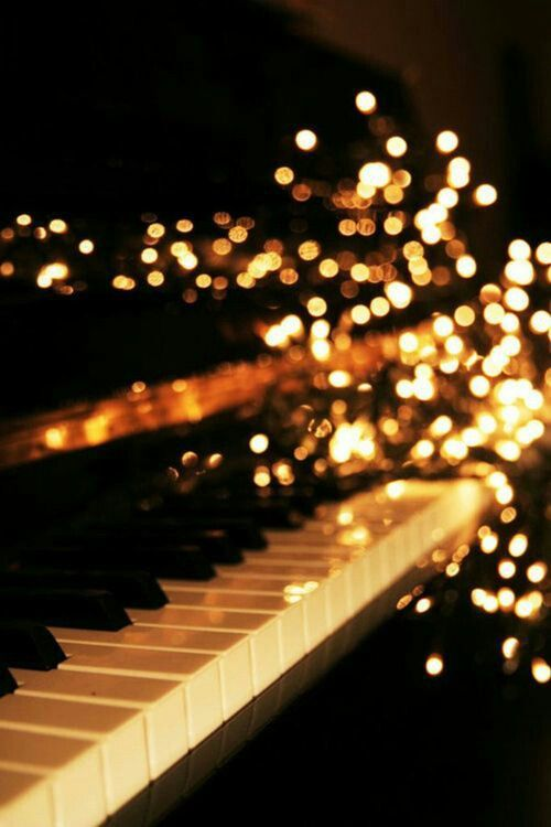 """The piano keys are black and white, but they sound like a million colors in your mind"" -Maria Cristina"