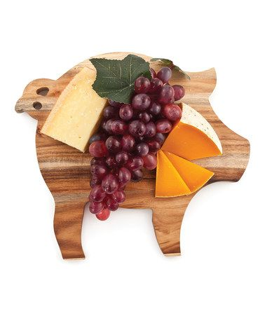 Another great find on #zulily! Farmhouse Pig Cheese Board by True Fabrications #zulilyfinds