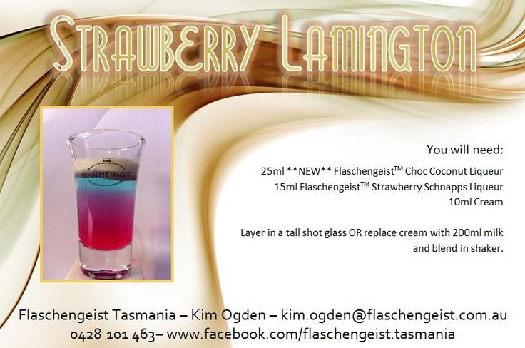 Strawberry Lamington