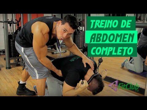 Treino de Abdômen Completo - YouTube