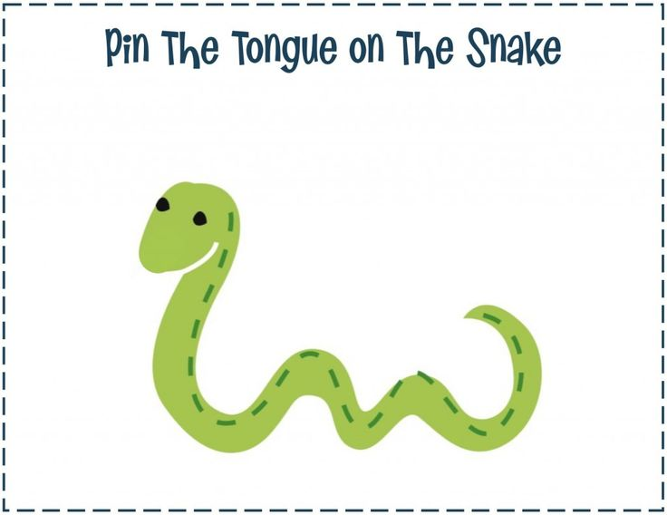 pin the tongue on the snake makes the perfect game for a creepy, crawly party! and it was featured as 'pick of the week' on @obs form Nursery | Junior
