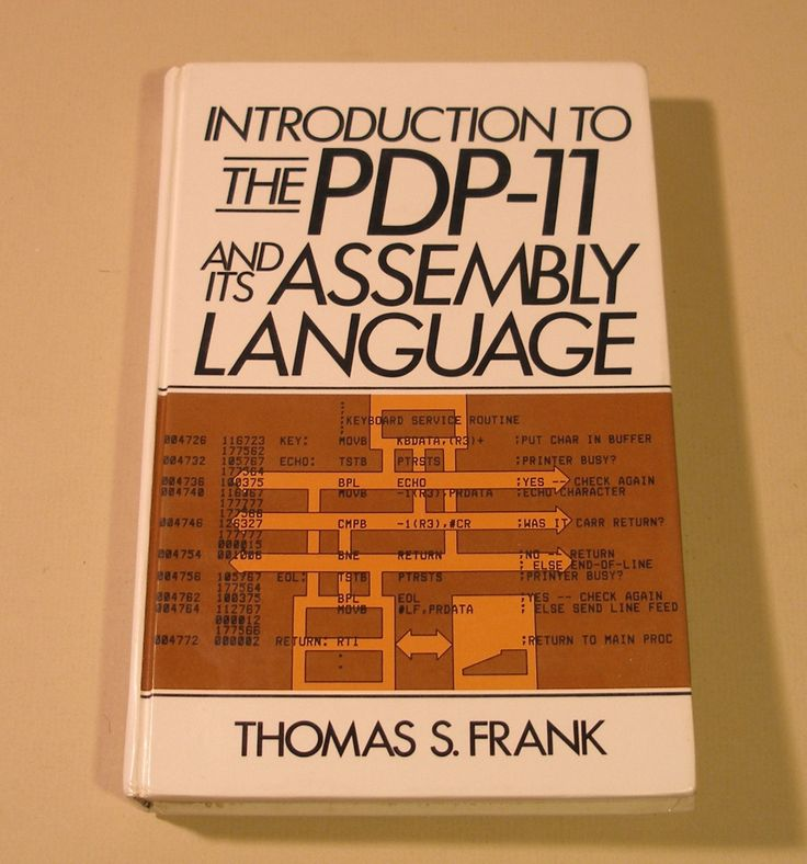 Introductory Book on Dec PDP 11 Assembly Language
