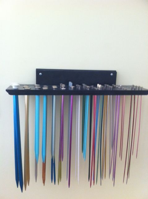 Knitting Needle Storage : Storage ideas for knitting needles how do you store yours