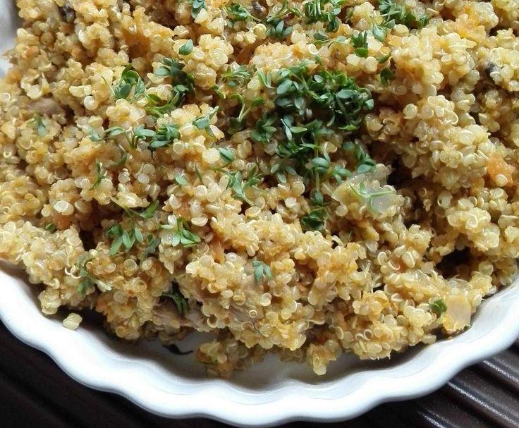 Rezept Quinoa-Plov von Bifbof - Rezept der Kategorie Hauptgerichte mit Gemüse