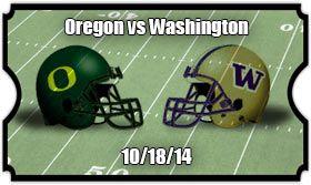 Washington Huskies vs Oregon Ducks  Game #7 Sat 10.18.14 Autzen Stadium Final Score: 45-20 DUCKS