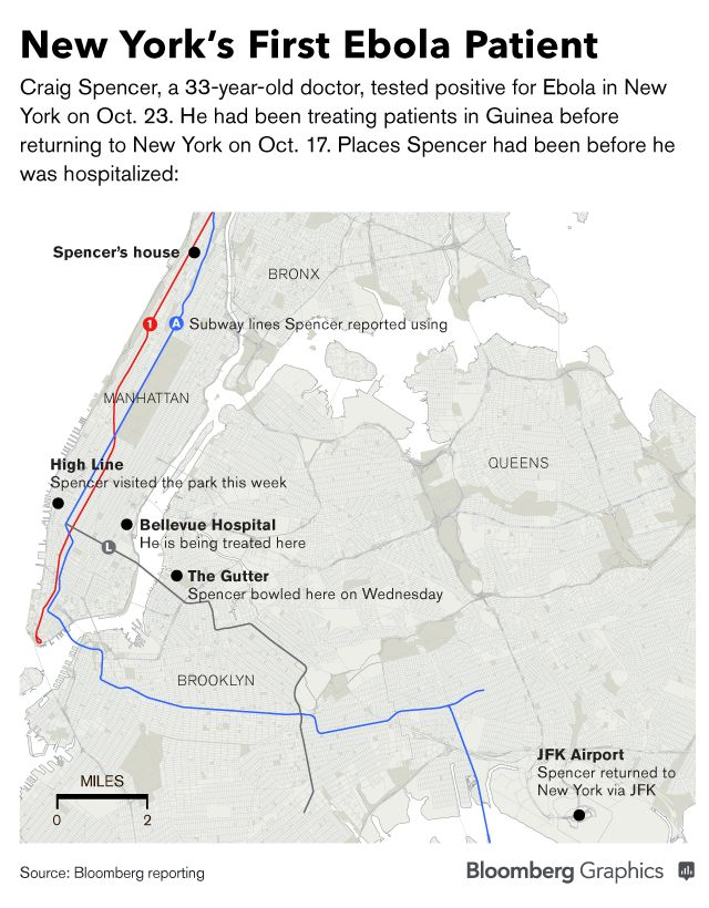 NYC Hospital System Treating Ebola Patient Faces Deficit - Bloomberg