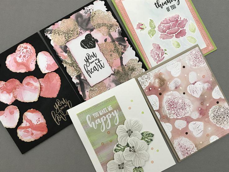 Gina K Designs Stamp TV Card Kit | Hearts & Flowers | Part 2