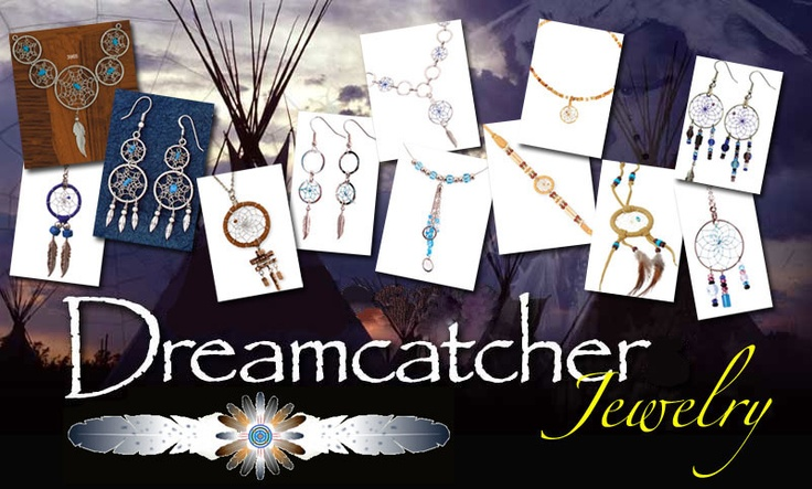 Classy Dream Catcher  Jewelry! Click On Photo To Review The Complete Collection!  http://www.indianvillagemall.com