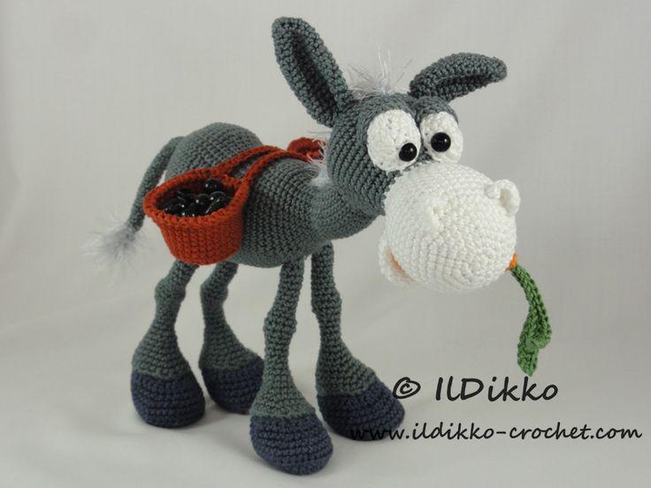 Dusty The Donkey Amigurumi Pattern