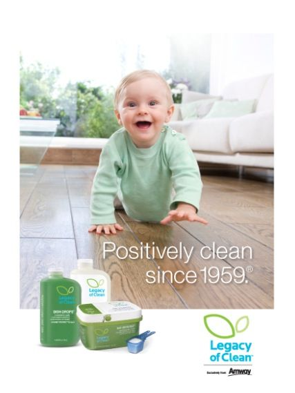 Legacy of Clean Best Cleaning and Laundry Products EVER. Organic so safe for kids and pets...get out ANYTHING and best of all smell so fresh and so clean, clean! Purchase at www.amway.com/SarahEichhorn