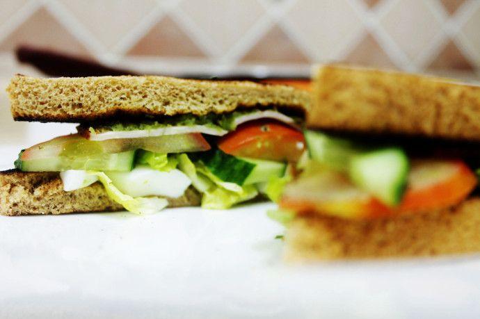 Egg n Turkey Sandwiches  #sandwich