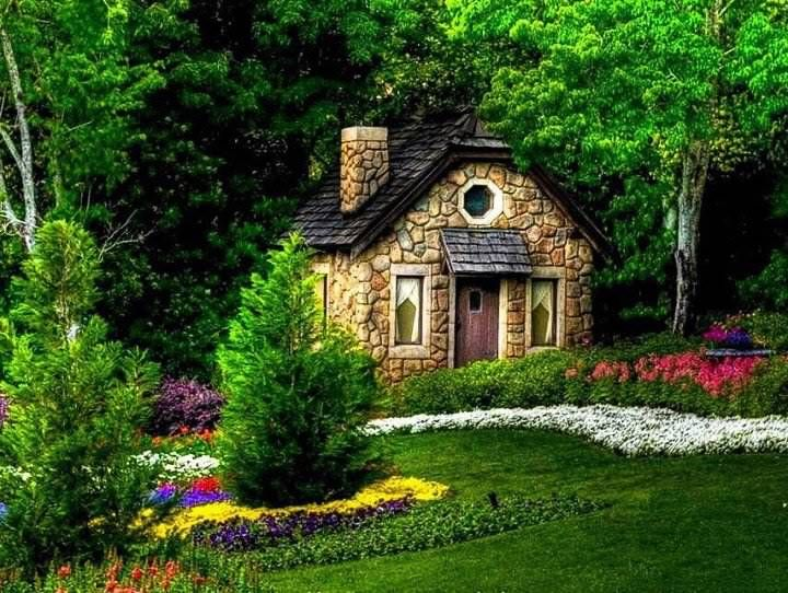 Cottage retreat beautiful fairy tale and fantasy like for Cottage retreat ii