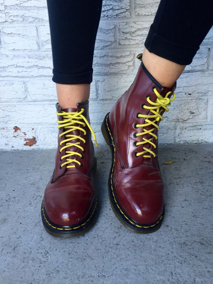 Vintage Oxblood Leather Doctor Martens Ankle Boots by DaisiesVtg on Etsy https://www.etsy.com/listing/477690188/vintage-oxblood-leather-doctor-martens