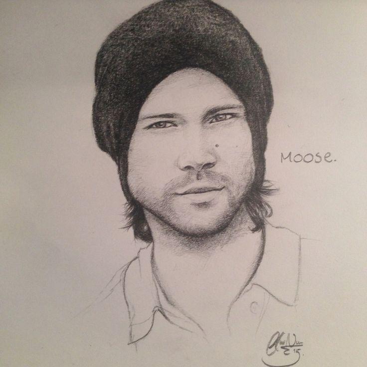 Jared Padalecki sketch by me (Clara Niemann)