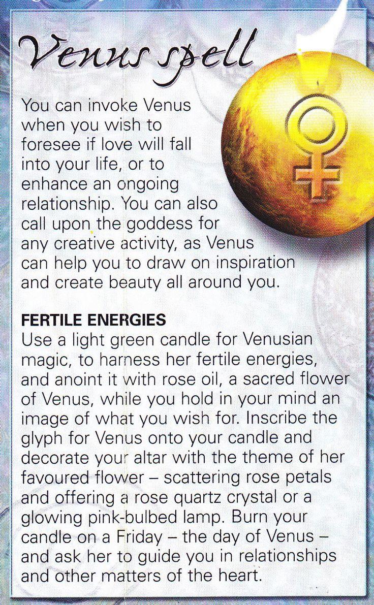 Magick Spells:  Venus #Spell.