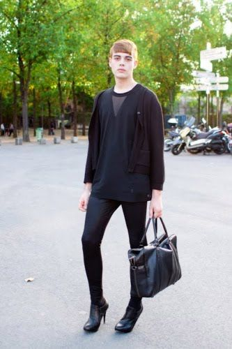 newfashion: Street Fashion: MIH (Men in Heels)