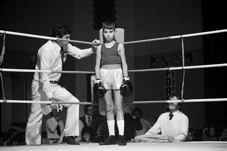 Before the fight: amateur boxing at the Town Hall, Boksburg 1979-1980 Silver gelatin photograph on fibre-based paper