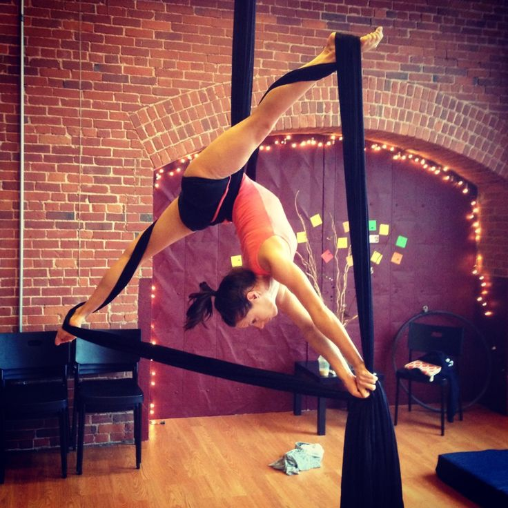 Dream: have high vault ceilings to create an aerial silks room in my future house.