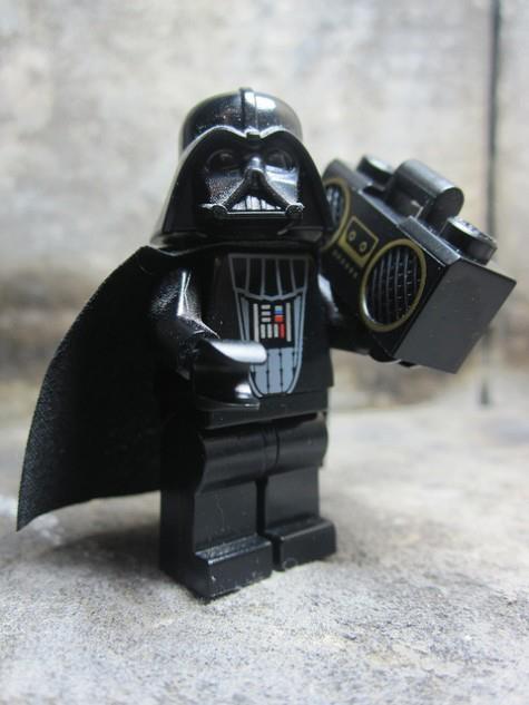 Dark Vador Boombox ! #Lego