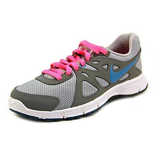 Nike Revolution 2 Women's Running Shoes Sneakers Wide Gray Size 8