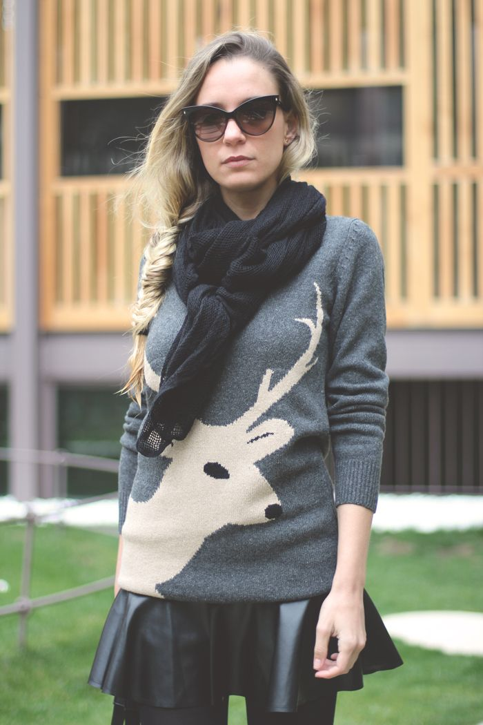 animal sweater