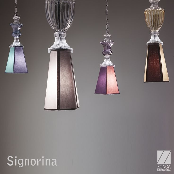 Signorina Modern Pendant Lamp - Design: FZI interiors #zonca #zoncalighting