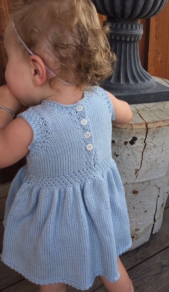Ravelry: Swan Valley Toddler Dress by Selena Miskin