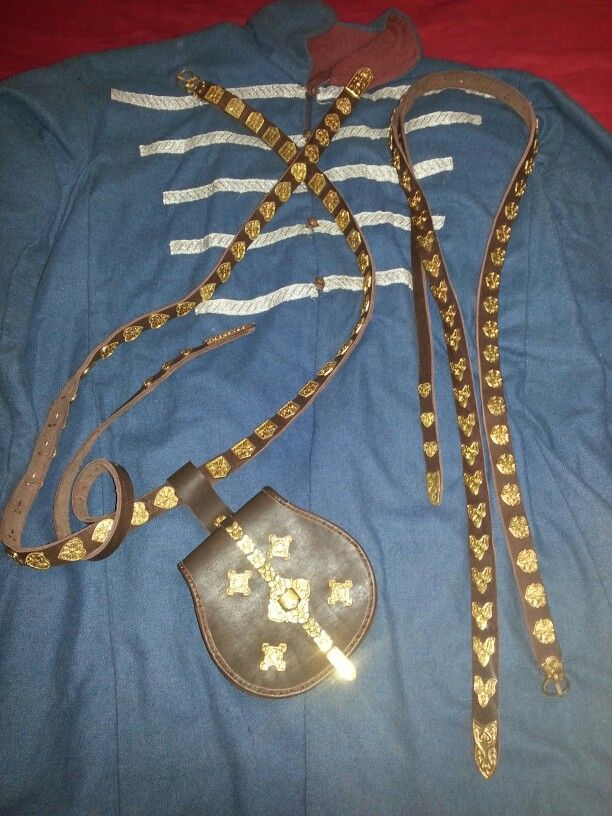 My Rus coat with belts and tarsloy from the Chirnigov and Gnezdovo burial finds