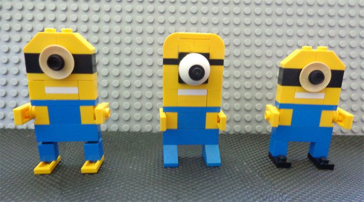 Tessa And Her Despicable Me Lego Minions