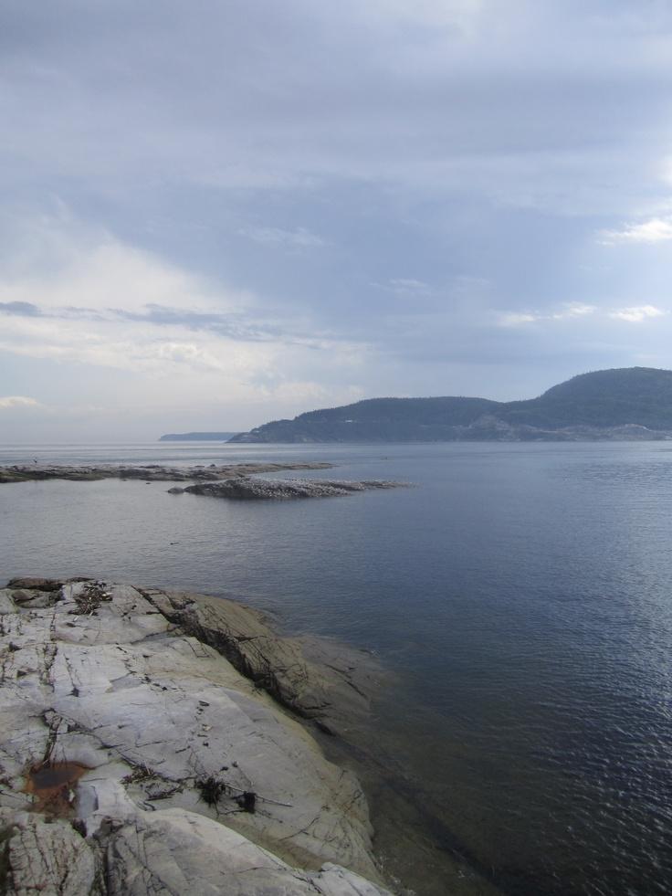 Tadoussac. Un des meilleurs endroits pour relaxer après une journée de travail, le sentier de la pointe-de-l'islet!