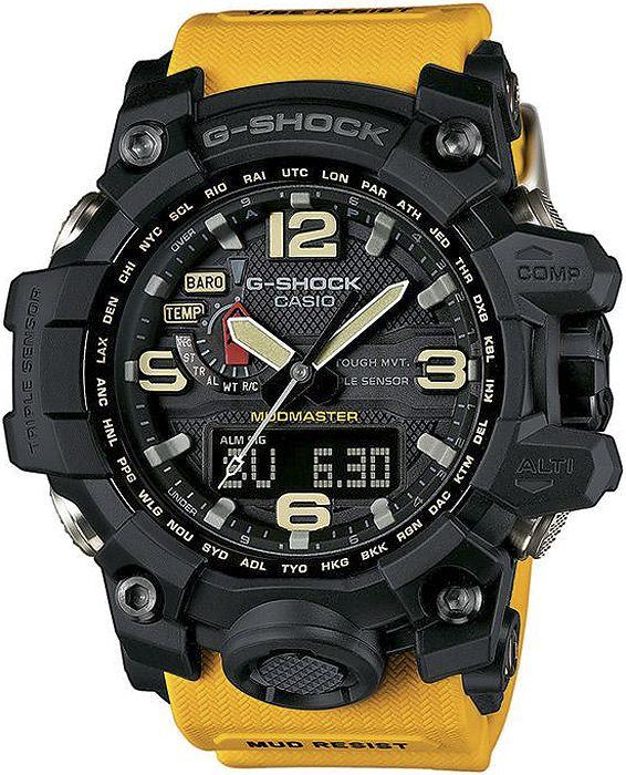Zegarek męski Casio G-Shock GWG-1000-1A9 Mudmaster - sklep internetowy www.zegarek.net